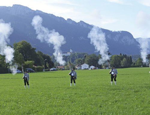 60-jähriges Wiedergründungsfest der Gebirgschützenkompanie Aschau 09.09.2018