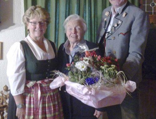 80. Geburtstag von Betty Hamberger