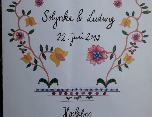 Hochzeit von Solynka und Ludwig von Cramer-Klett