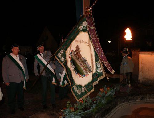 Kriegerehrung in Hohenaschau am 1. November 2019