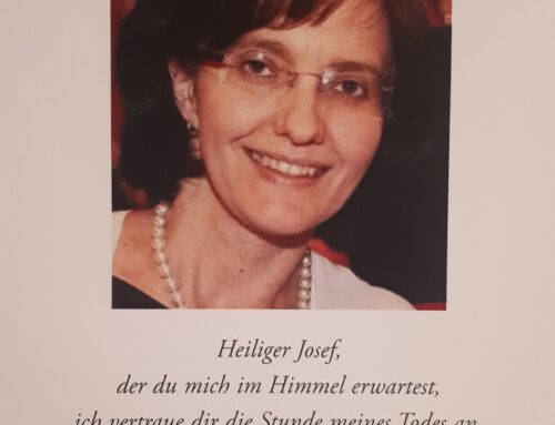 Trauer um Gertrud Oberloher geb. Aiblinger