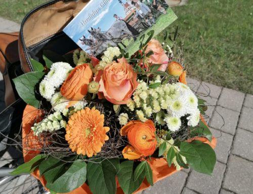 Blumengrüße für Helga Nacke zum 80. Geburtstag
