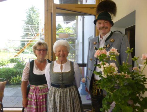 Herzlichen Glückwunsch an Anni Heinrich zum 80.Geburtstag
