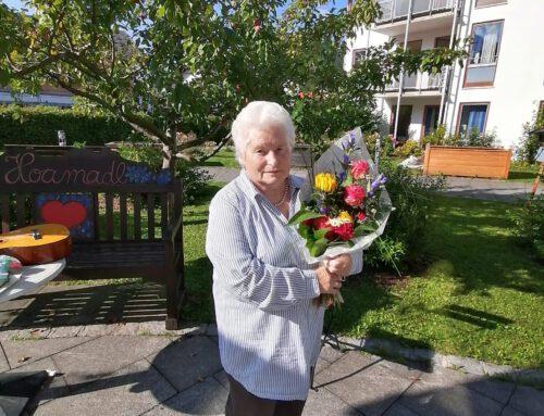 80. Geburtstag von Gerda Vorderwestner